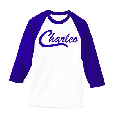 Image of The Original Charleo Raglan Royal/White