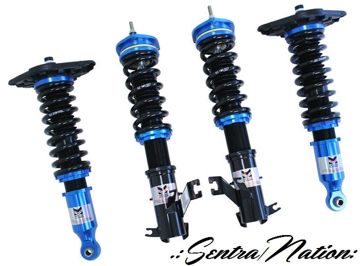 Image of (B15) Megan EZ Street Series Coilovers/Damper Kit Fits 00-06 Sentra