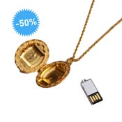 Collier Médaillon USB - Emily Rothschild