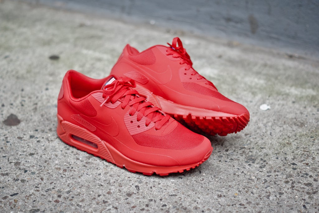 "premium selection 33fa1 d6254 NIKE AIR MAX 90 HYPERFUSE ""INDEPENDENCE DAY"" RED   DopeKickin"