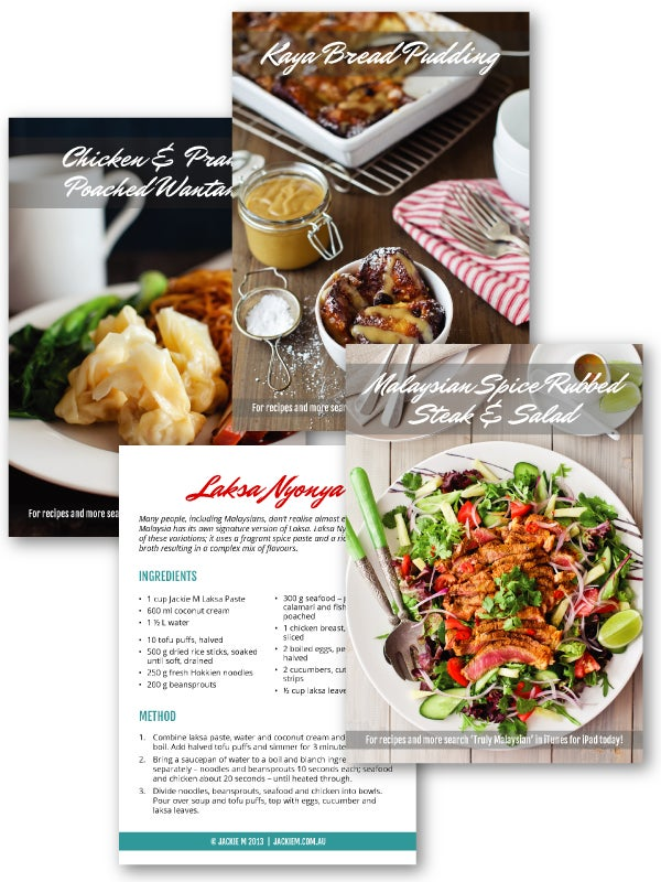 Image of Recipe Cards - Set of 4