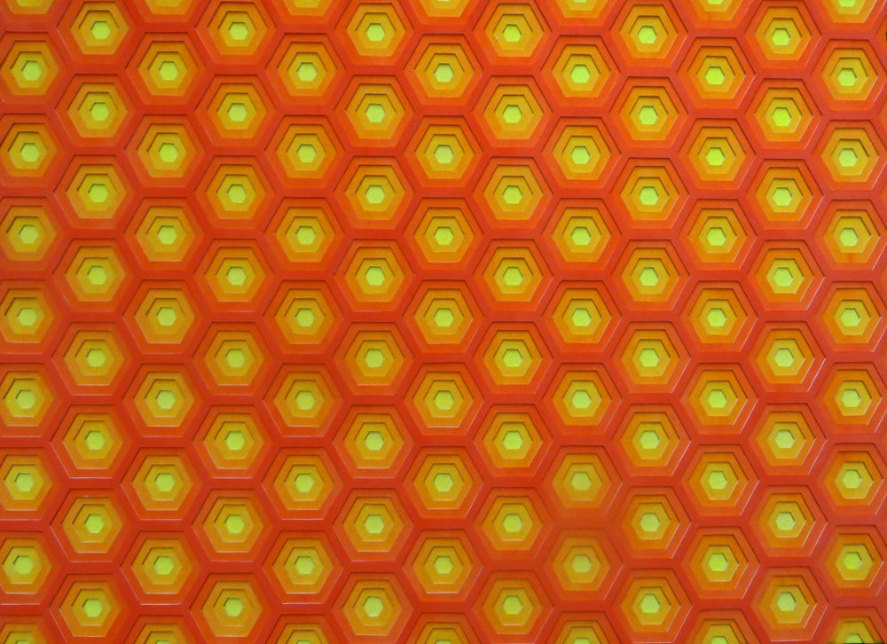 Image of Hexagons - Warm