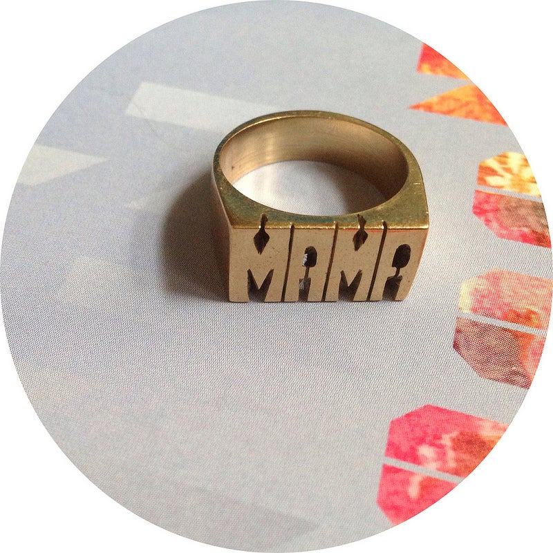 Image of ID RING /// MAMA