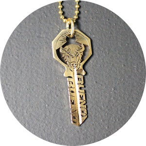 Image of KEY NECKLACE /// BUFFALO