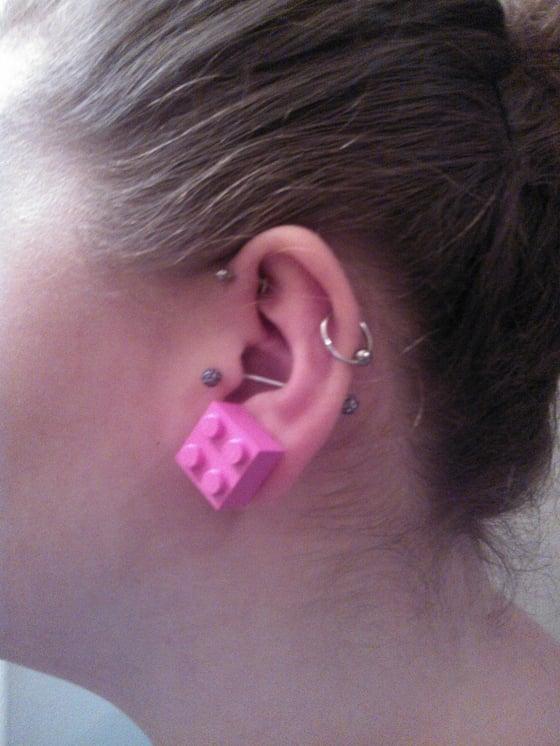 Image of Lego Earrings