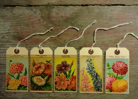 Image of Set of 5 Gift Tags