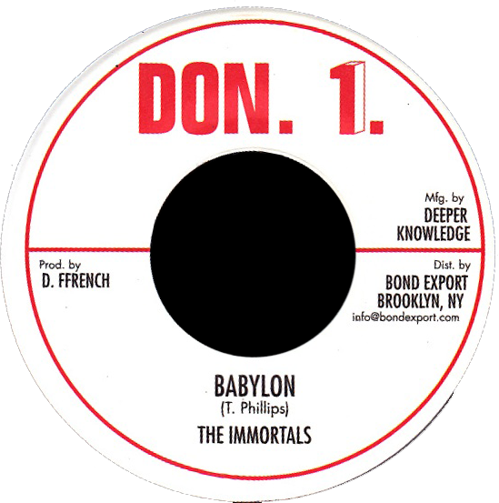 "Image of Immortals - Babylon 7"" (Don 1)"