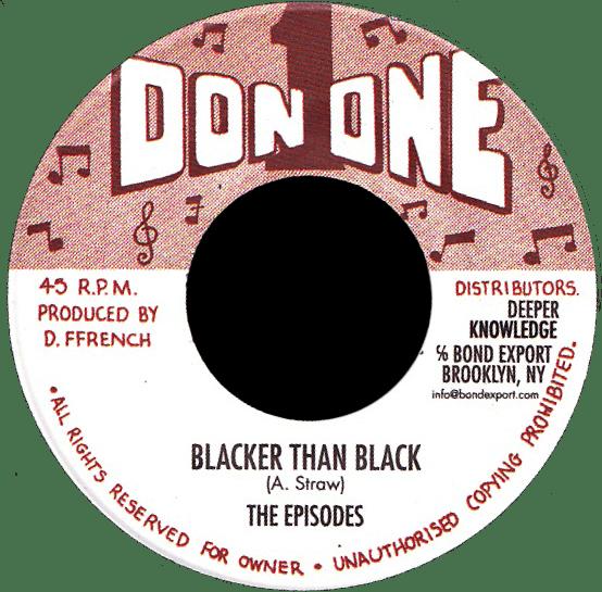 "Image of The Episodes - Blacker Than Black 7"" (Don 1)"