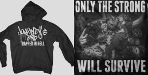 Image of Trapped In Hell Hoodie