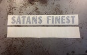 Image of SATANS FINEST SWINGARM STICKER