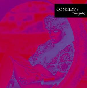 Image of PD-LP-020 CONCLΔVE - Longplay (Limited white/purple splatter vinyl) + REMIX CDR + Digital