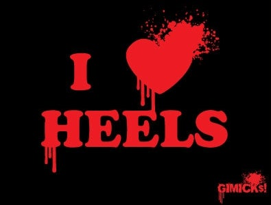 Image of I LOVE HEELS TEE