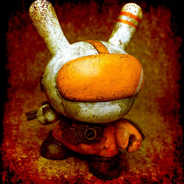 Image of Space Dunny Classic(orange) - soldout