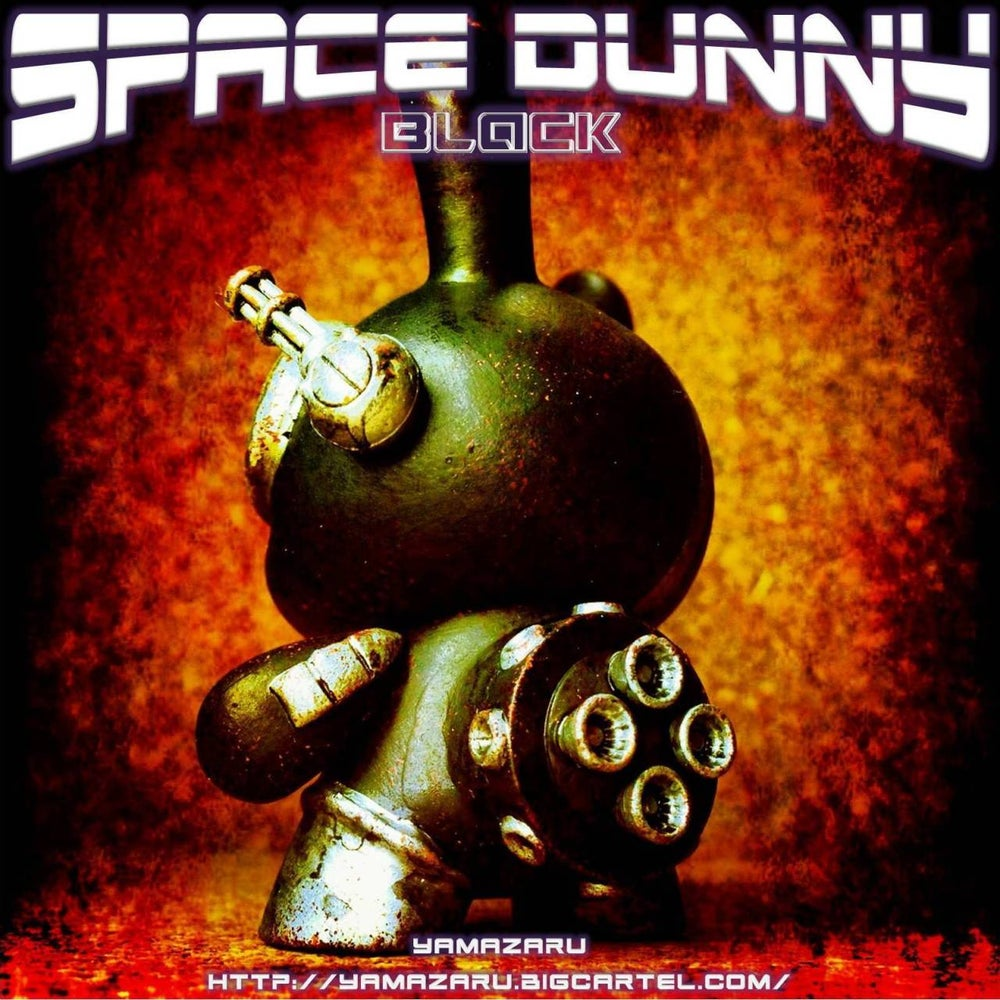 Image of Space Dunny BLACK - soldout