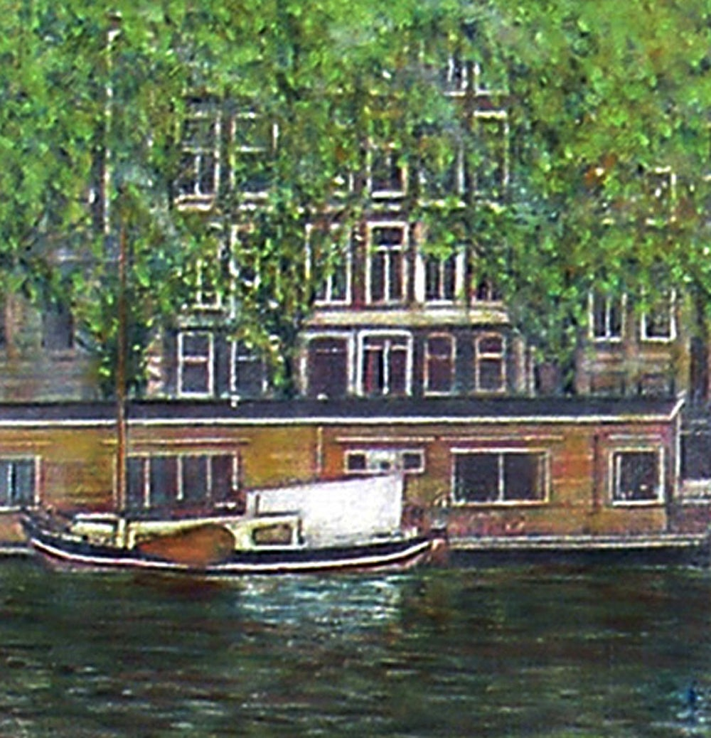 Image of View of the Amstel