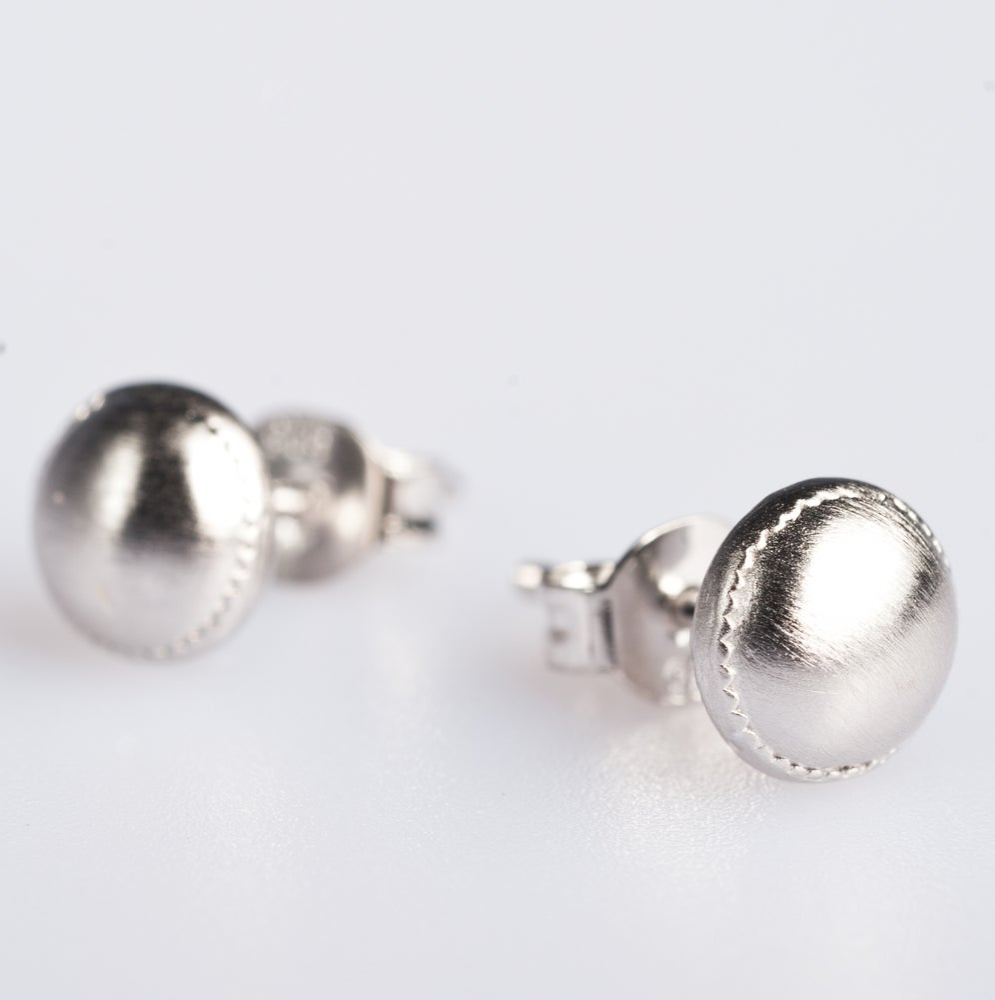 Image of Oorstekers zilver, juwelen op maat, Wijngaardstraat, Antwerpen, juwelier