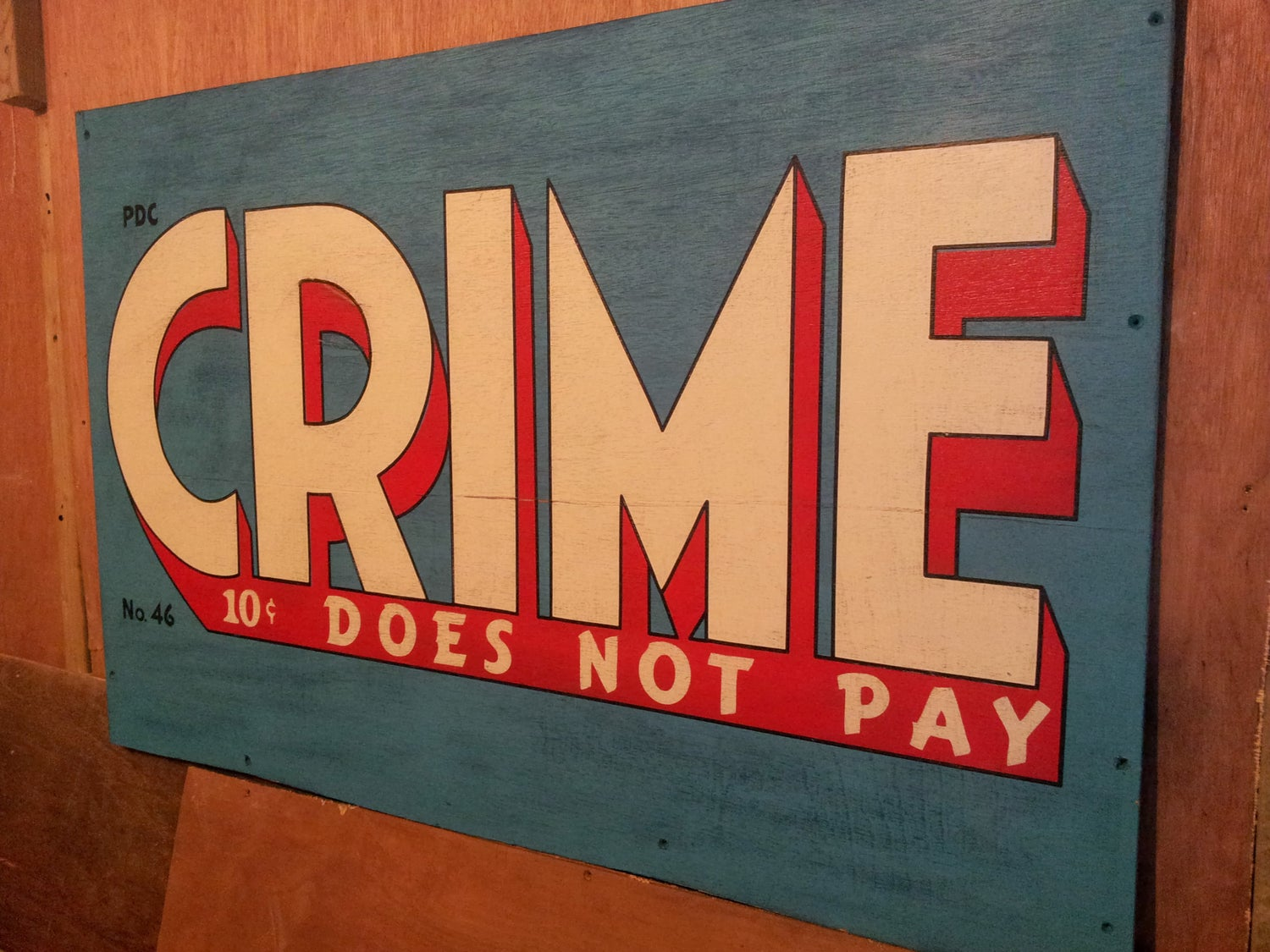 Image of Crime Does Not Pay