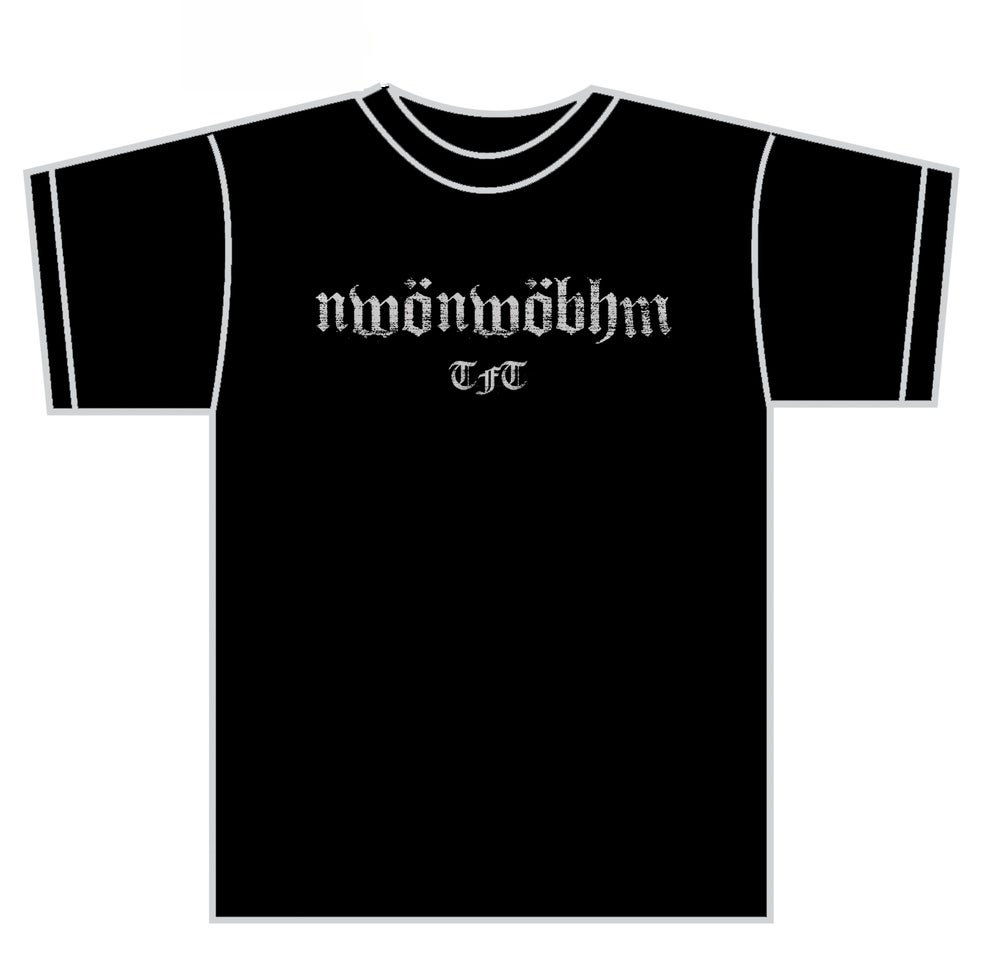 "Image of That Fucking Tank ""NWONWOBHM"" shirt"