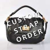 Image of Custom Replacement Straps & Handles for Marc Jacobs Handbags/Purses/Bags
