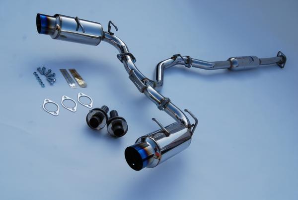 Image of Invidia N1 Cat-Back Exhaust Titanium Tips