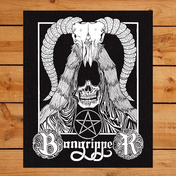 Image of Horns Backpatch ( Pre-Order)