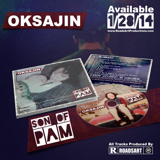 "Image of Oksajin- Son Of Pam ""CD"""