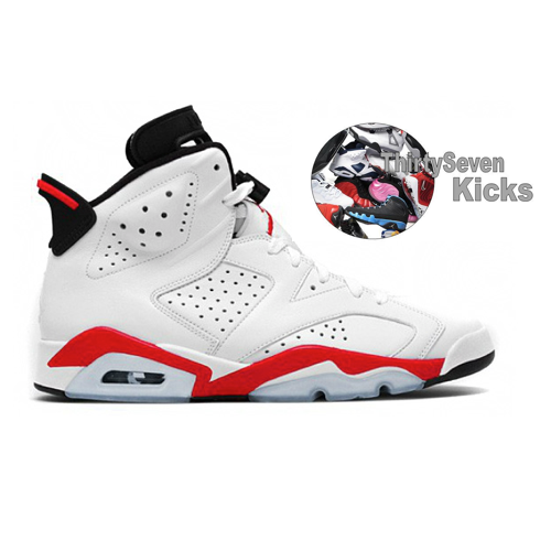 "Image of Jordan Retro 6 ""Infrared"""