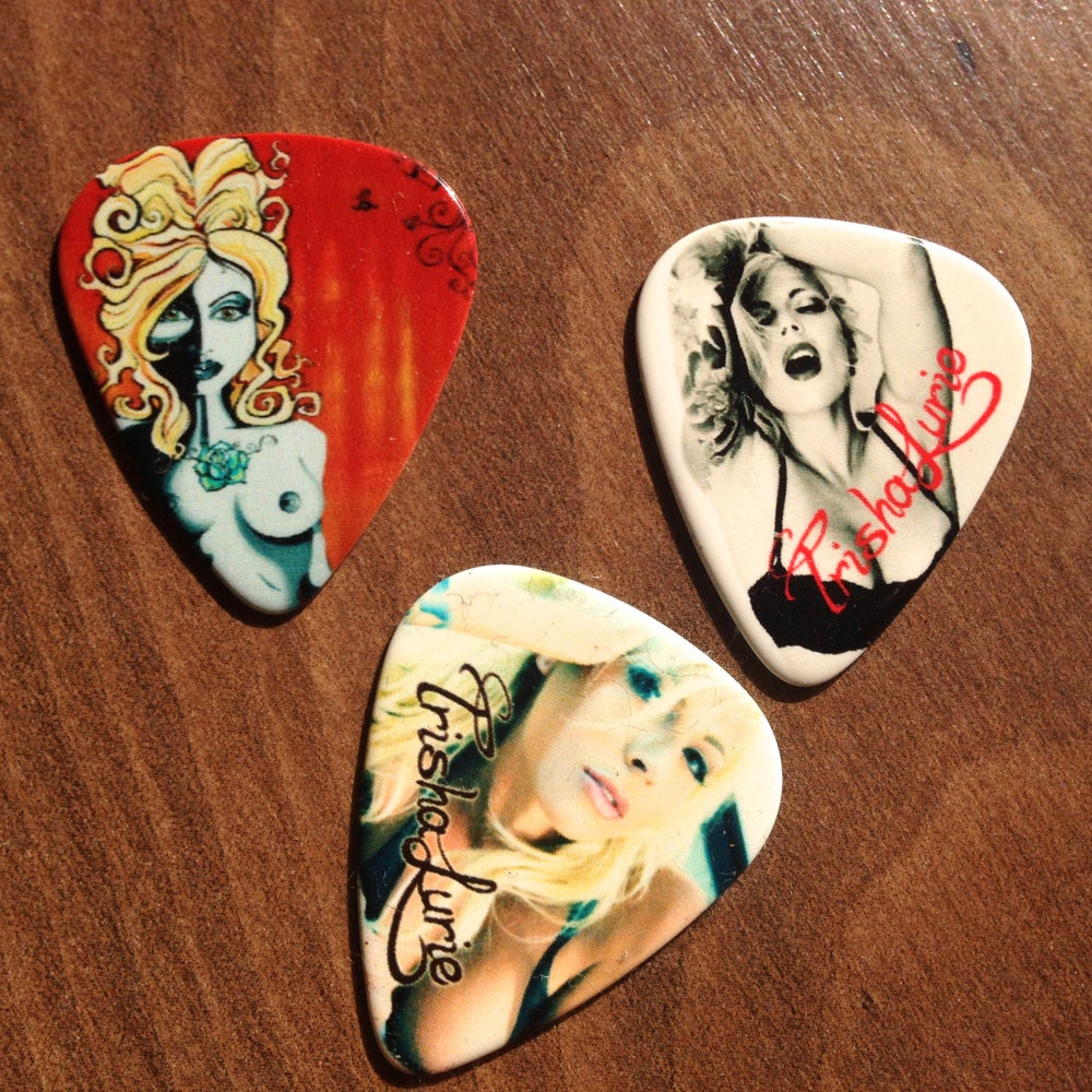 Image of Guitar Pick Packs, Photos and Art by Trisha Lurie