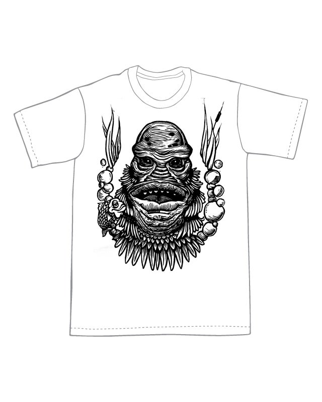 Creature of the Black Lagoon T-Shirt (B3) **FREE SHIPPING**