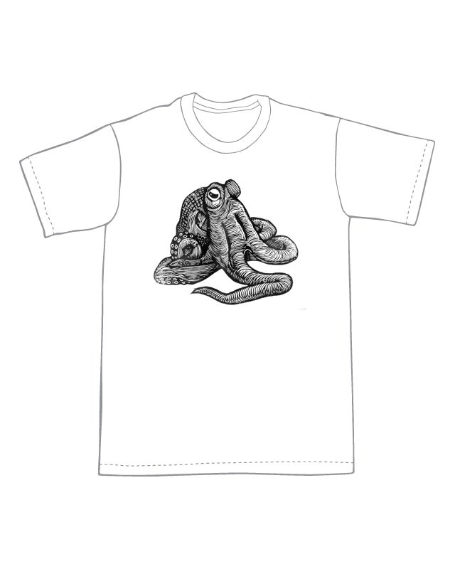 Octopus T-Shirt (A1) **FREE SHIPPING**