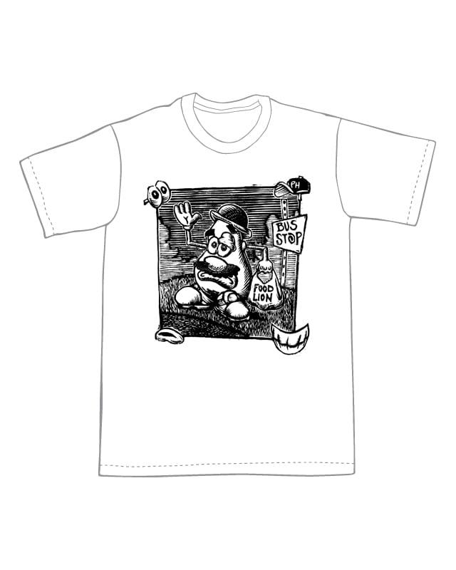 Mr. Potato Head's rough day T-Shirt (B3) **FREE SHIPPING**