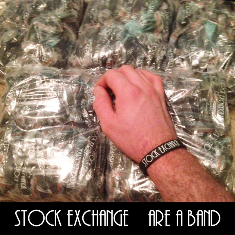 Image of Puntastic Stock Exchange wristbands