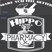 Image of Hippo Family Pharmacy - Medicine Shirt