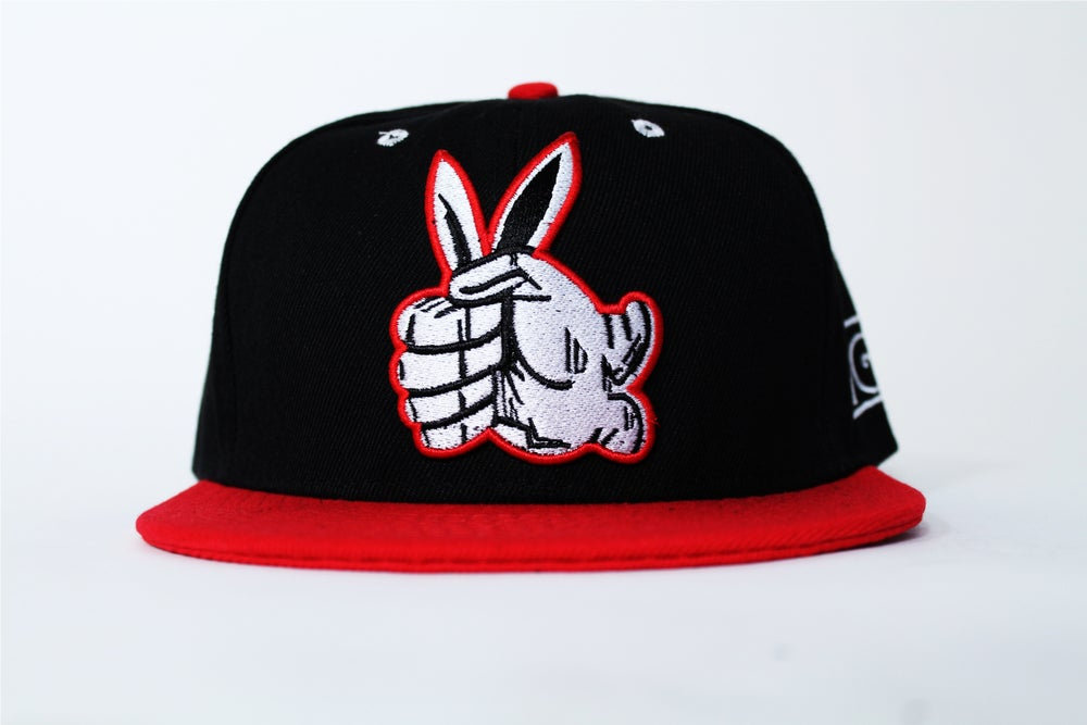 Image of Insane Gentlemen Black/Red Snap Back
