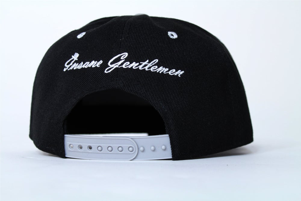 Image of Insane Gentlemen Black/Grey Snap Back