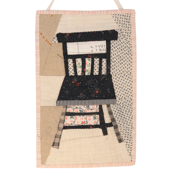 Image of Quilted Chair Wall Hanging