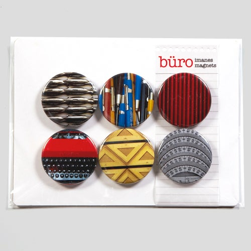 "Image of Imanes ""Büro"" / ""Büro"" Magnets"