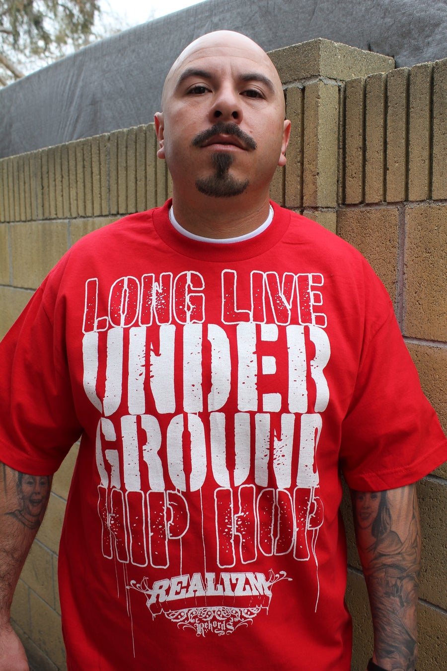 Image of Long Live Underground Hip Hop Tee  (Black, Royal Blue or Red)