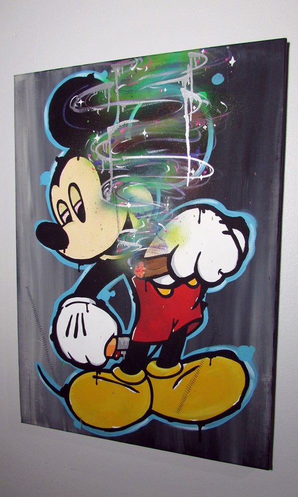 Image of R2G2 MICKEY ART PIECE