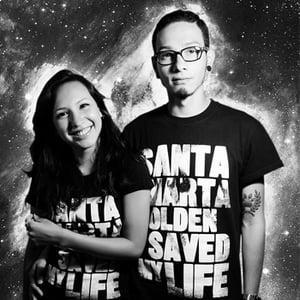 Image of SANTA MARTA GOLDEN SAVED MY LIFE SHIRT