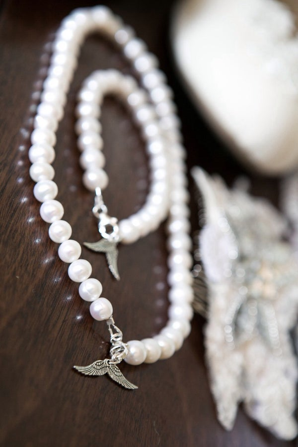 Serenity Bridal Bracelet with Fresh Water Pearls - Laura Pettifar Designs