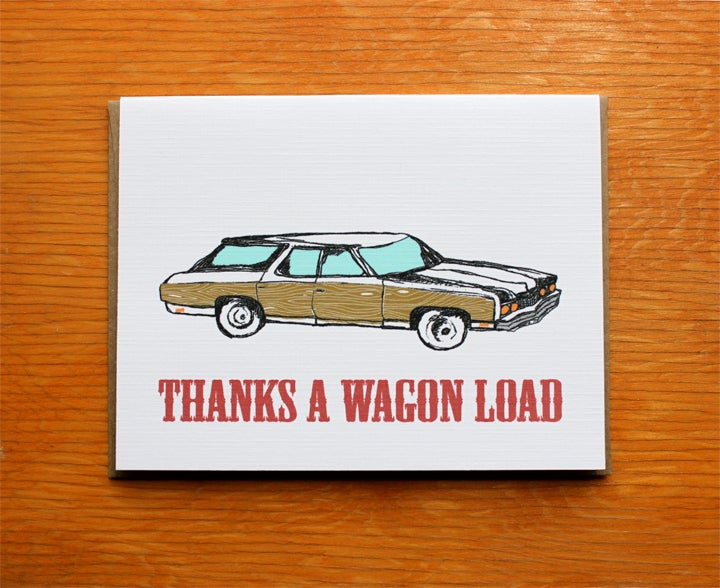 Image of Thanks a Wagon Load
