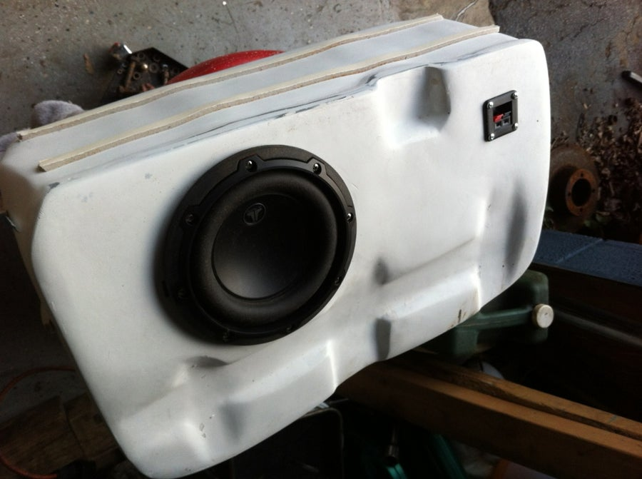 Image of ITS BACK!  v2.0 BMW 2002 Subwoofer Enclosure