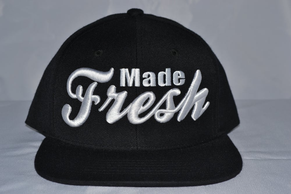 Image of Black & White Snapback