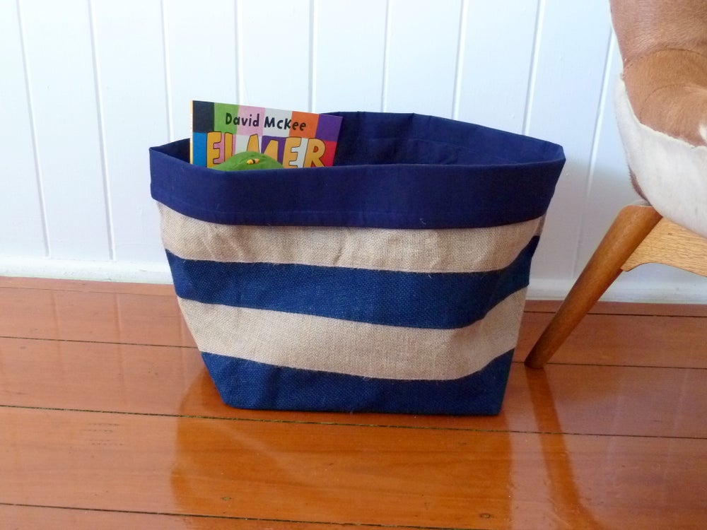 Image of Fair Trade Jute Storage Basket