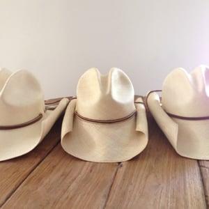 Image of Panama Cowboy Hat - Natural