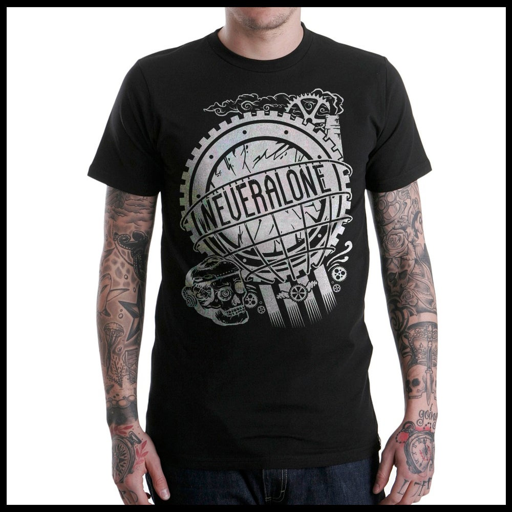 "Image of ""SteamPunk"" Black Tee"