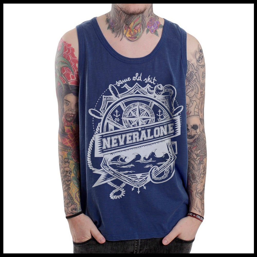 "Image of ""Sailor"" Blue Tank"