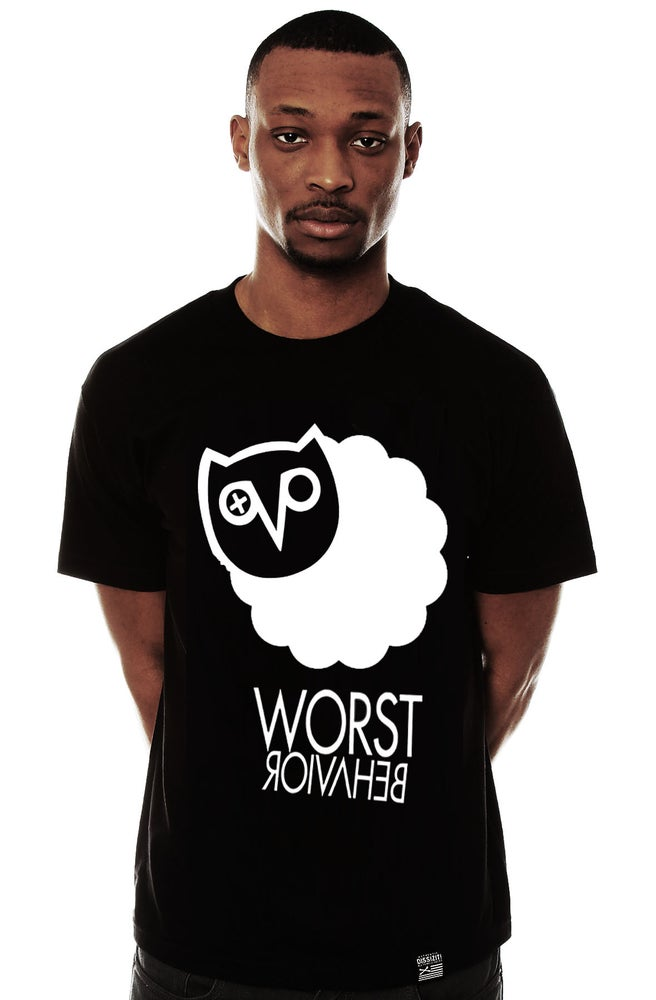 "Image of Blvcksheep ""Worst Behaviour"" Tee (White & Blvck Available)"