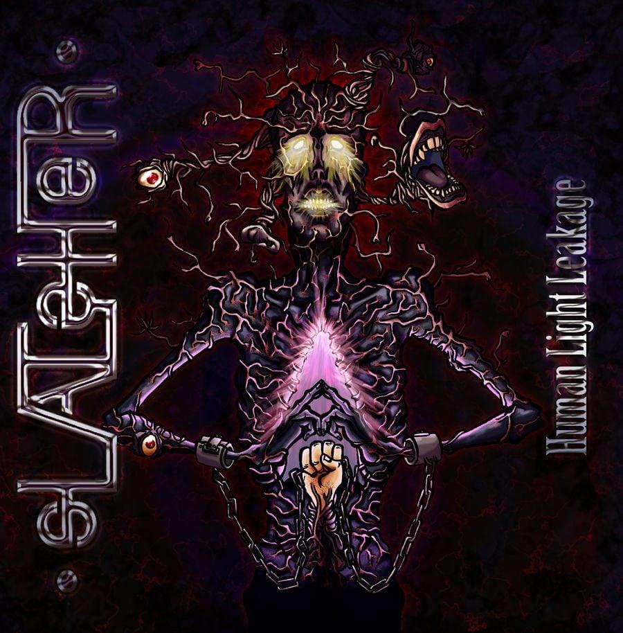 Image of SLATSHER - HUMAN LIGHT LEAKAGE - Album